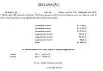 Declaração para imposto de renda automatizada